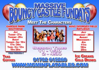 Bouncy Castle Fun Days