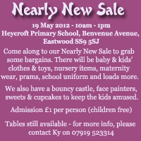 Nearly New Sale