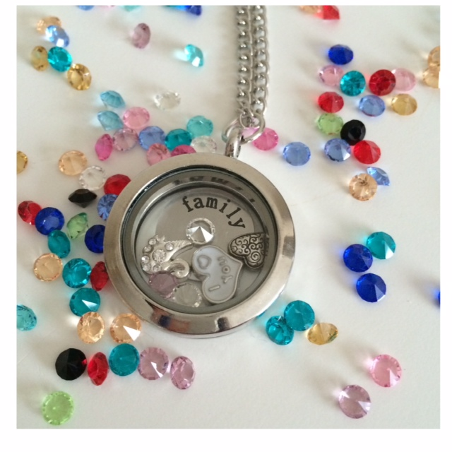 Family Personalised Memory Locket