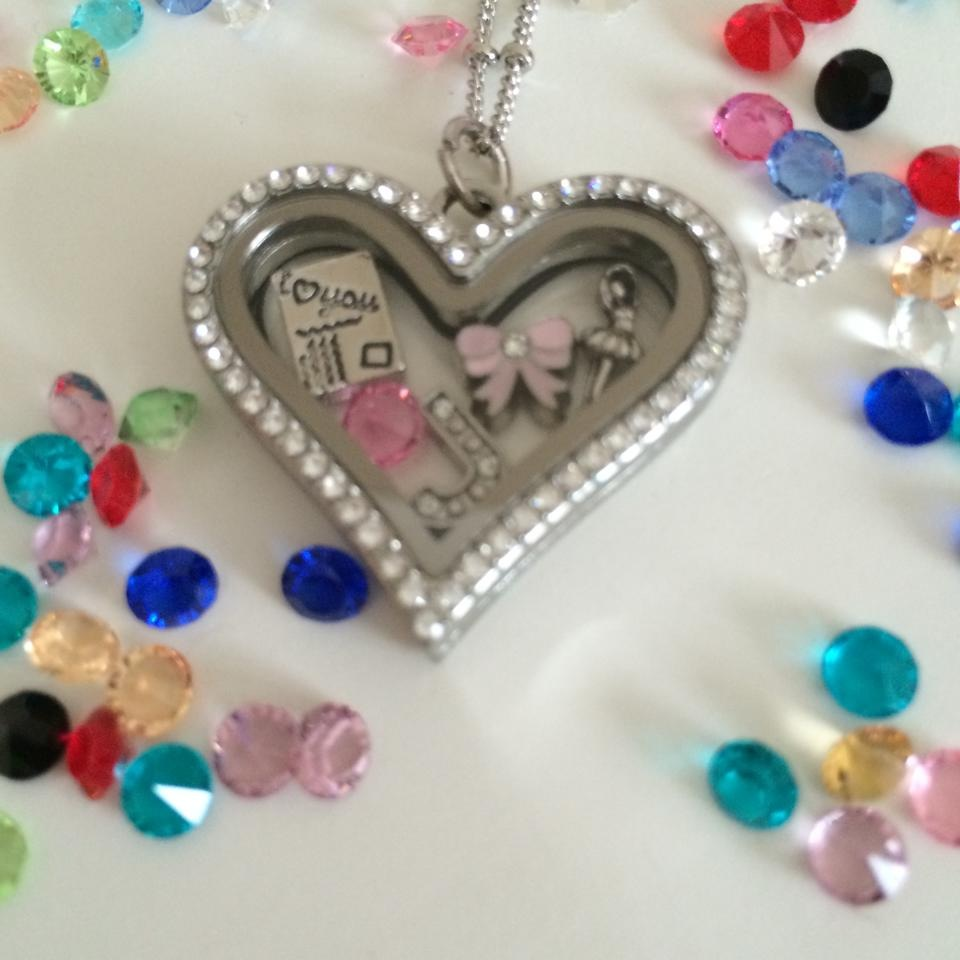 Heart Personalised Memory Locket